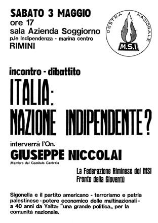 Rimini - Incontro/dibattito: \